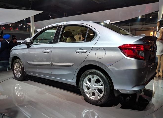 Honda Amaze - doi thu Hyundai Grand i10 sedan hinh anh 4
