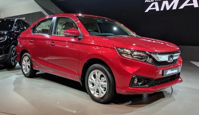 Honda Amaze - doi thu Hyundai Grand i10 sedan hinh anh 1