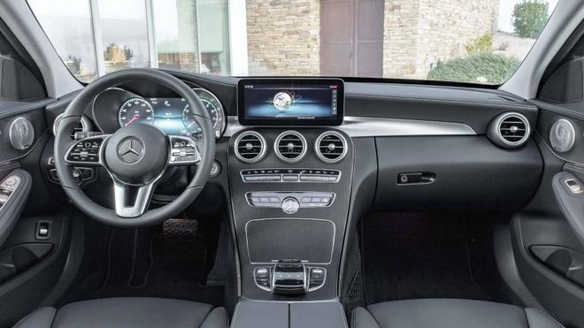 Mercedes-Benz trinh lang C-Class 2019 - ap luc len BMW 3-Series hinh anh 4