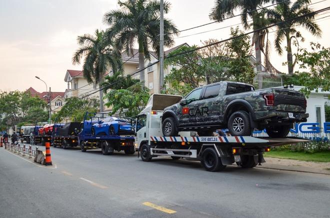 Loat sieu xe dinh dam chuan bi cho hanh trinh Car & Passion 2018 hinh anh 6