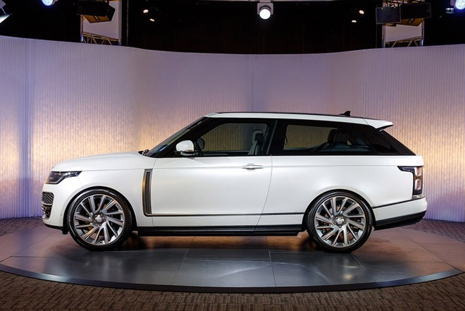 Range Rover SV Coupe lo dien, san xuat gioi han 999 chiec hinh anh