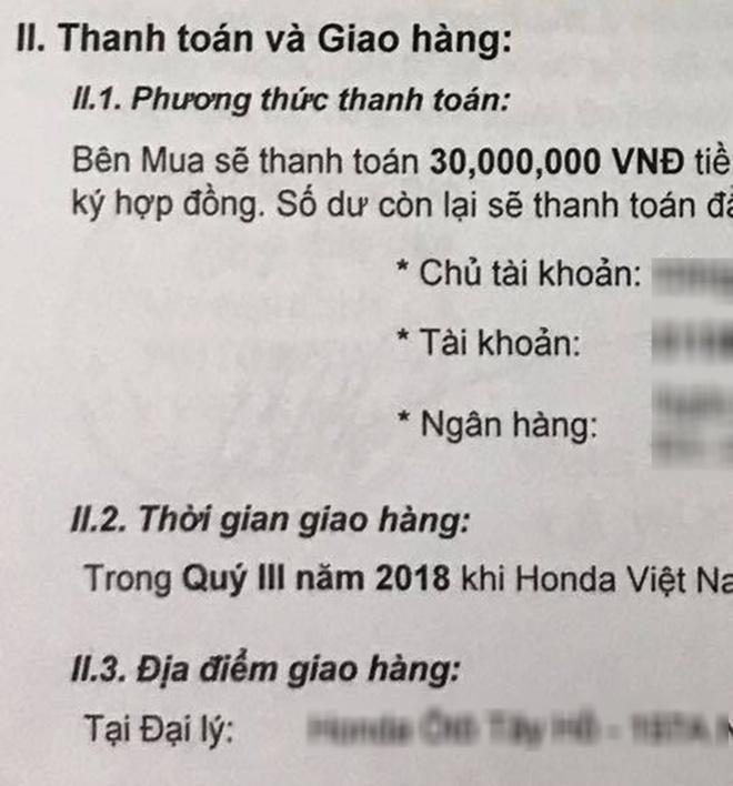 Khach hang o at dat coc Honda CR-V 2018 huong thue NK 0% hinh anh 2