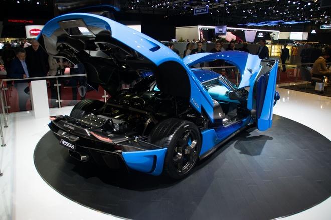 Sieu pham trieu USD Koenigsegg Regera den trien lam Geneva 2018 hinh anh 4