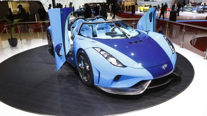 Sieu pham trieu USD Koenigsegg Regera den trien lam Geneva 2018 hinh anh 3