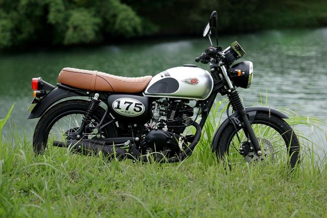 Danh gia Kawasaki W175: Lua chon khac la, co dien duoi 100 trieu hinh anh