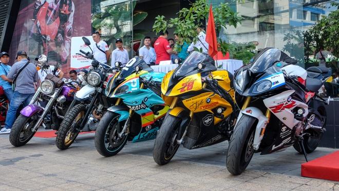 Dai hoi moto mien Nam 2018 chuan bi dien ra, tu hop 1.000 biker hinh anh