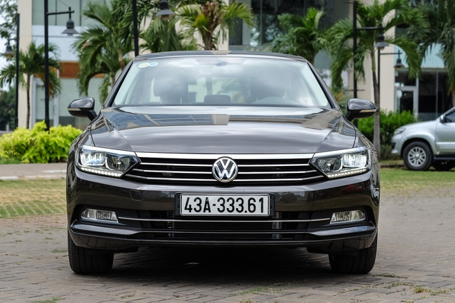 Danh gia Volkswagen Passat - Chiec sedan de di lai hang ngay hinh anh