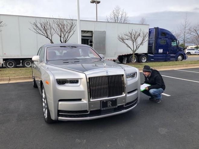 Rolls-Royce Phantom 2018 dau tien chuan bi ve Viet Nam hinh anh 3