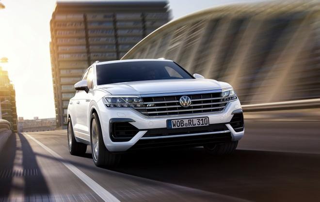 Volkswagen Touareg 2019 ra mat - tiem can phan khuc hang sang hinh anh