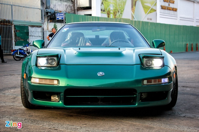 Huyen thoai Acura NSX doi 1991 'hang hiem' tai Viet Nam hinh anh