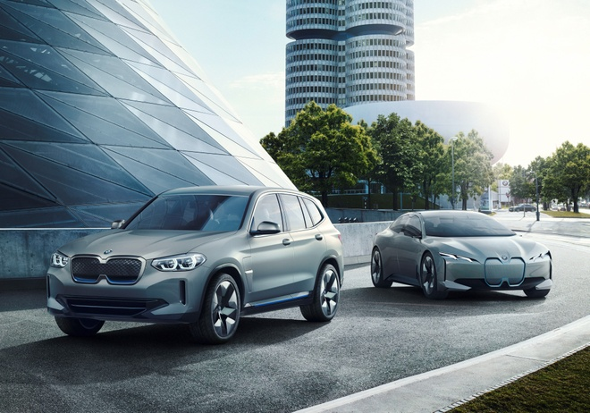 BMW Concept iX3 - SUV chay dien san xuat tai Trung Quoc hinh anh 8
