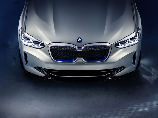 BMW Concept iX3 - SUV chay dien san xuat tai Trung Quoc hinh anh 3
