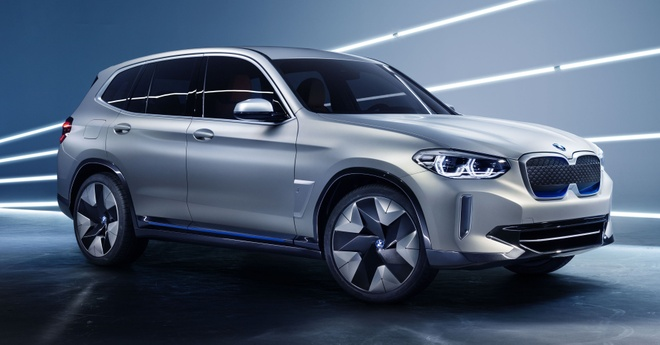 BMW Concept iX3 - SUV chay dien san xuat tai Trung Quoc hinh anh 1