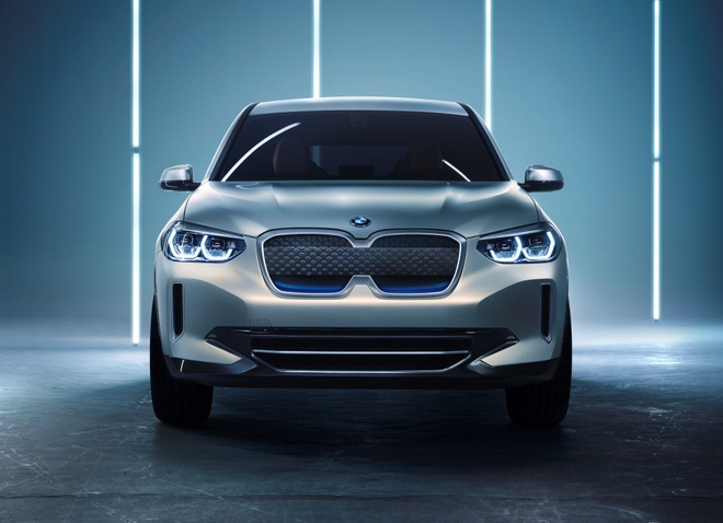 BMW Concept iX3 - SUV chay dien san xuat tai Trung Quoc hinh anh 2