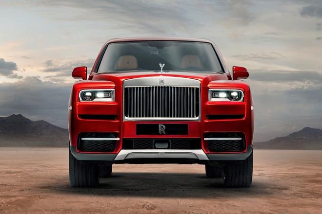 Rolls-Royce Cullinan ra mat - SUV sieu sang gia tu 325.000 USD hinh anh
