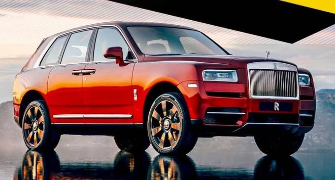 Rolls-Royce Cullinan - SUV sieu sang lo dien truoc gio ra mat hinh anh