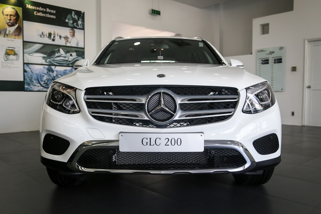 Chi tiet Mercedes-Benz GLC 200 ban som o VN, gia hon 1,6 ty dong hinh anh