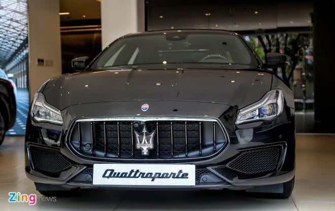 Maserati Quattroporte GTS Nerissimo Edition duy nhat tai Viet Nam hinh anh