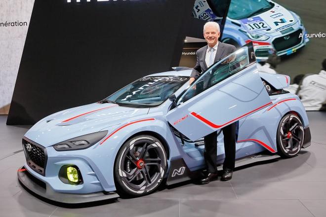 Sep Hyundai N: 'Chung toi khong sao chep Mercedes, BMW hay Porsche' hinh anh