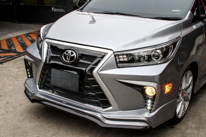 Toyota Innova phien ban do theo phong cach Lexus hinh anh 4