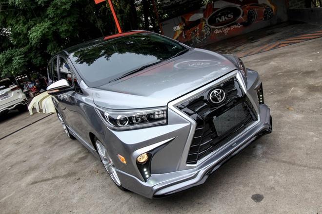 Toyota Innova phien ban do theo phong cach Lexus hinh anh 3