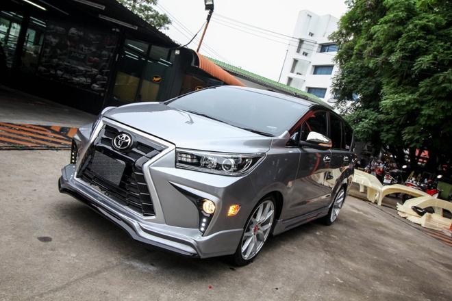 Toyota Innova phien ban do theo phong cach Lexus hinh anh 2