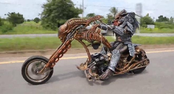 Predator tren duong pho Thai Lan hinh anh