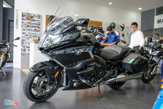 Chi tiet 'sieu moto' BMW K1600B chinh hang tai Viet Nam hinh anh