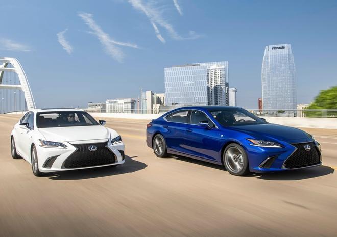 Lexus ES 2019 gia tu 39.500 USD, doi thu Mercedes E-Class hinh anh
