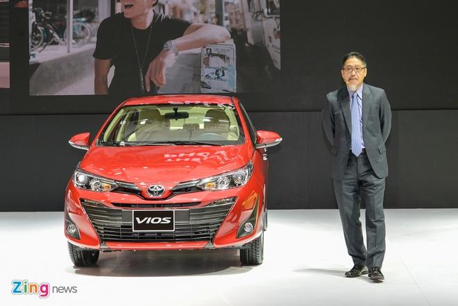 Toyota Vios 2018 ra mat tai Viet Nam, gia tu 531 trieu dong hinh anh 2