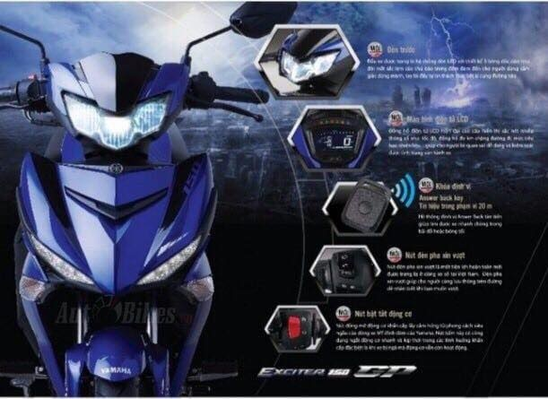 Yamaha Exciter 2019 lo dien truoc ngay ra mat hinh anh