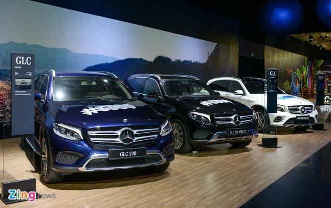 Mercedes GLC va Ford Ranger dinh an trieu hoi tai Viet Nam hinh anh