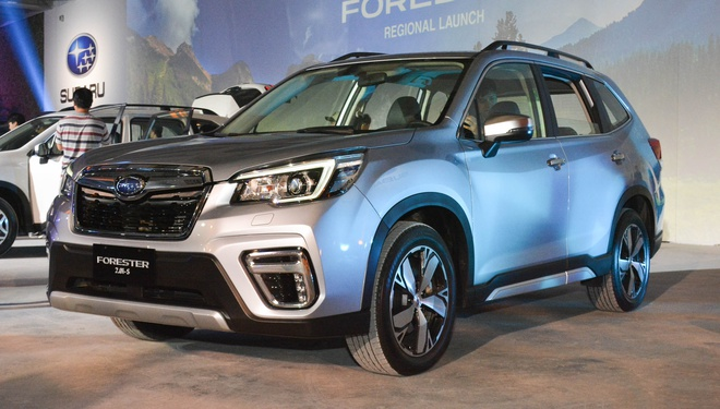 Subaru Forester 2019 ra mat tai chau A, chua cong bo gia ban hinh anh 1