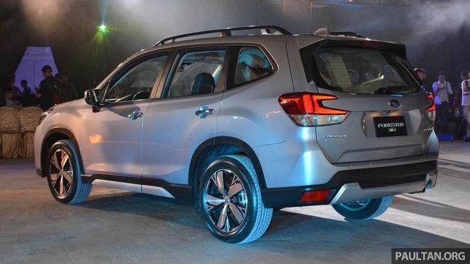 Subaru Forester 2019 ra mat tai chau A, chua cong bo gia ban hinh anh 5