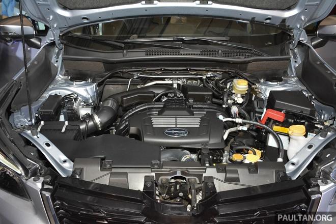 Subaru Forester 2019 ra mat tai chau A, chua cong bo gia ban hinh anh 7