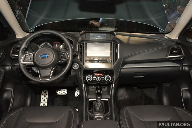 Subaru Forester 2019 ra mat tai chau A, chua cong bo gia ban hinh anh 8