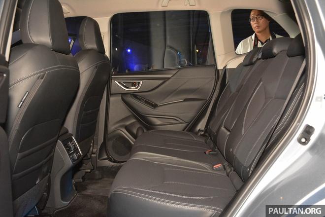 Subaru Forester 2019 ra mat tai chau A, chua cong bo gia ban hinh anh 12