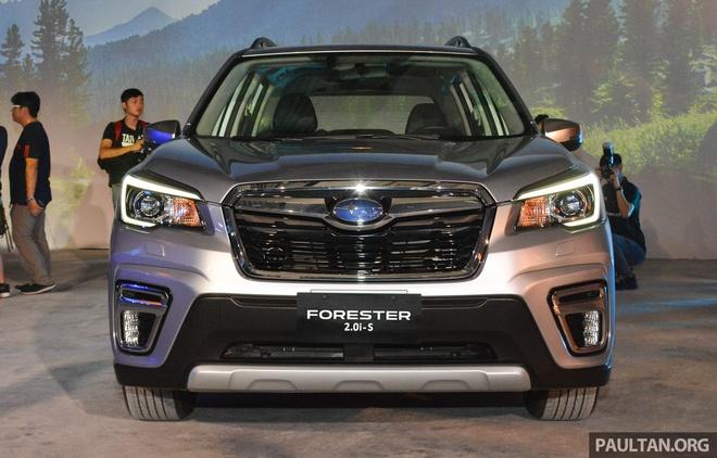 Subaru Forester 2019 ra mat tai chau A, chua cong bo gia ban hinh anh 2