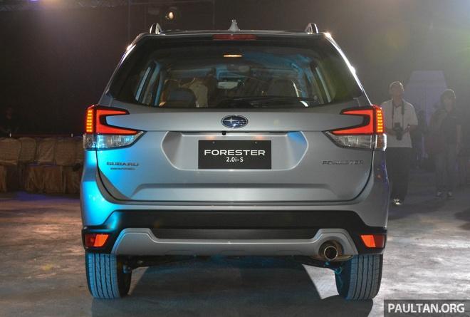 Subaru Forester 2019 ra mat tai chau A, chua cong bo gia ban hinh anh 6