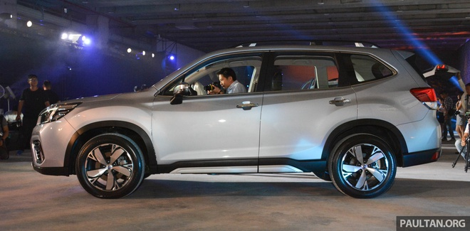 Subaru Forester 2019 ra mat tai chau A, chua cong bo gia ban hinh anh 4