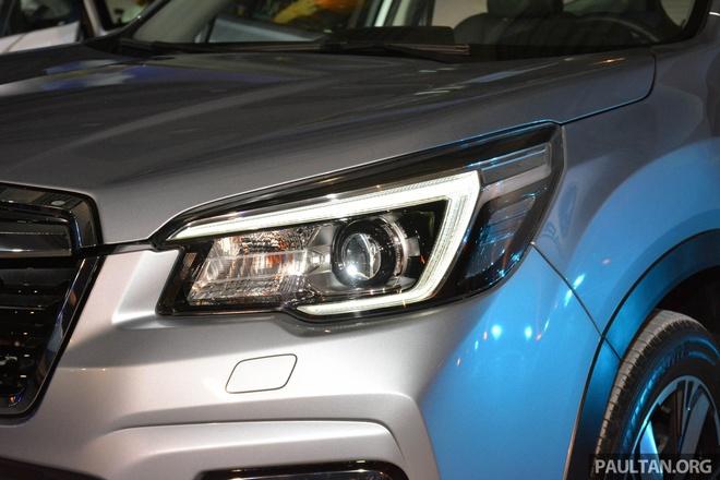 Subaru Forester 2019 ra mat tai chau A, chua cong bo gia ban hinh anh 3