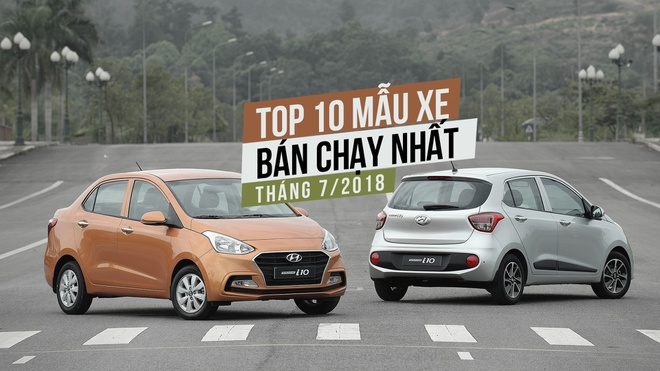 10 xe ban chay thang 7/2018: San choi rieng cua xe lap rap hinh anh