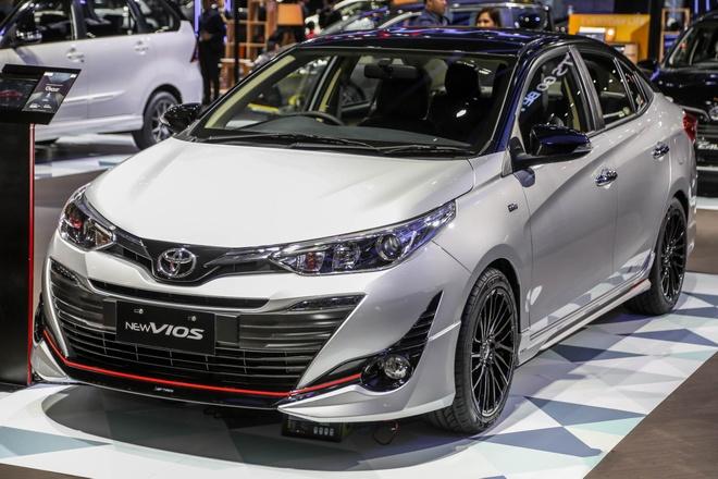 Toyota trung bay ban Vios 2018 hieu suat cao tai Indonesia hinh anh