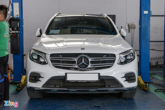 Do 'ong tho' vi sai cho Mercedes-Benz GLC nhu the nao? hinh anh