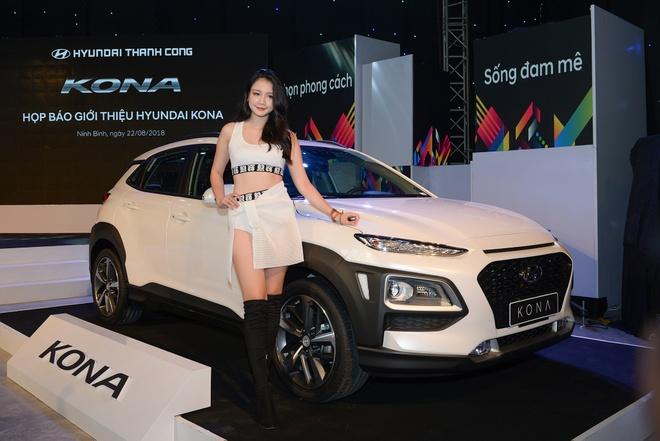Hyundai Kona ra mat tai Viet Nam: 3 phien ban, gia tu 615 trieu hinh anh 3