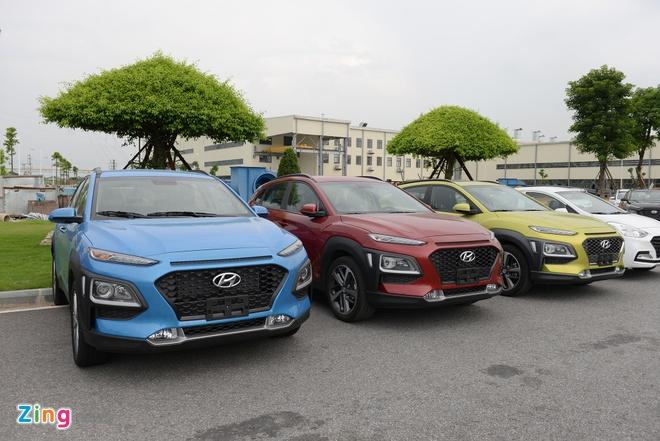 Hyundai Kona ra mat tai Viet Nam: 3 phien ban, gia tu 615 trieu hinh anh 2