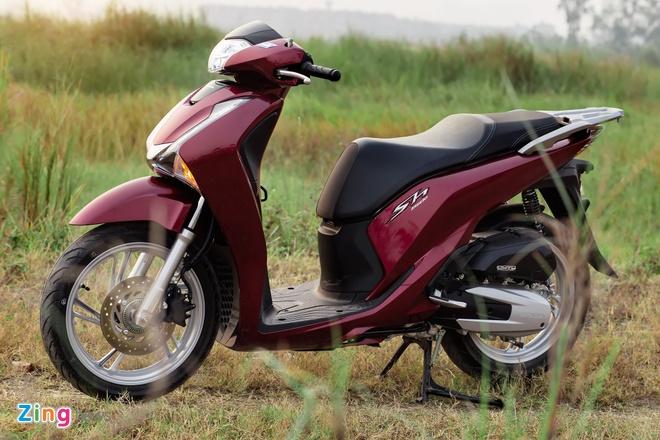 Honda SH 150i e am tai Indonesia nhung doi gia ca chuc trieu o VN hinh anh 1