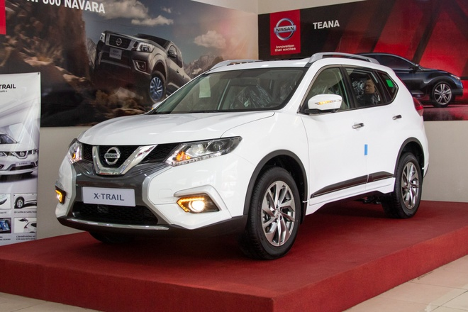 Chi tiet Nissan X-Trail V-Series ve dai ly truoc ngay ra mat hinh anh