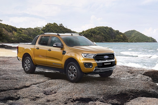 Ford Ranger 2019 co 7 phien ban, gia tu 630 trieu dong tai Viet Nam hinh anh 1