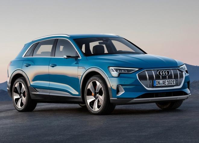 E-Tron - chiec SUV dien dau tien cua Audi co gia ban tu 74.800 USD hinh anh